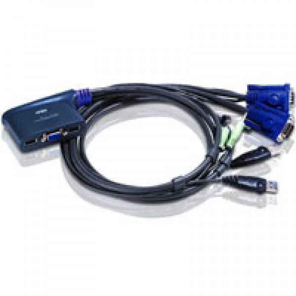 ATEN CS62U-A7 KVM prepínač pre 2PC/VGA/USB