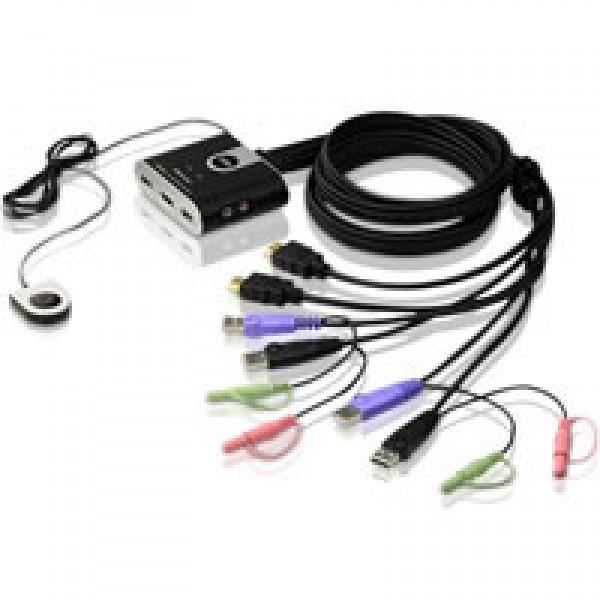 ATEN CS692-AT KVM prepínač pre 2PC/HDMI/USB