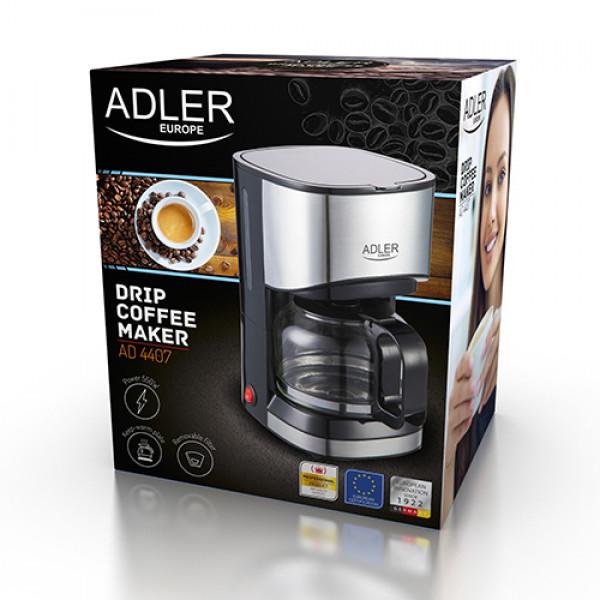 ADLER AD 4407 Prekvapkávajúci kávovar 0,7L