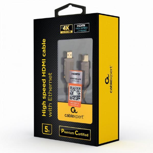 GEMBIRD Kábel HDMI 2.0b Sc/Sc 5m AWG28