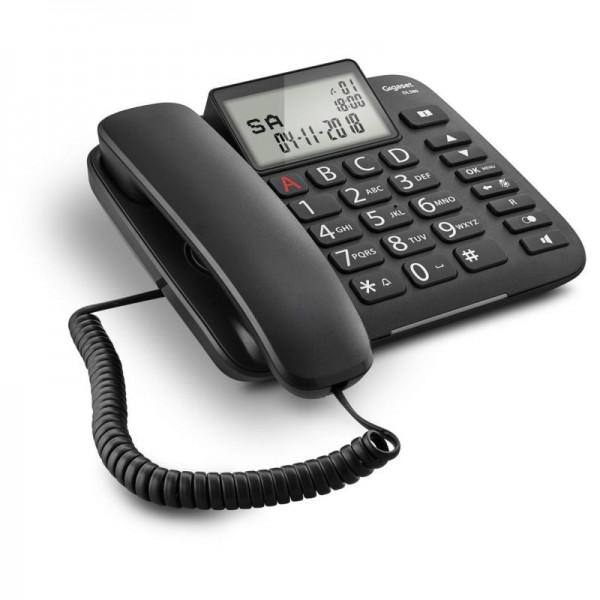 GIGASET DL380, Telefónny prístroj čierny