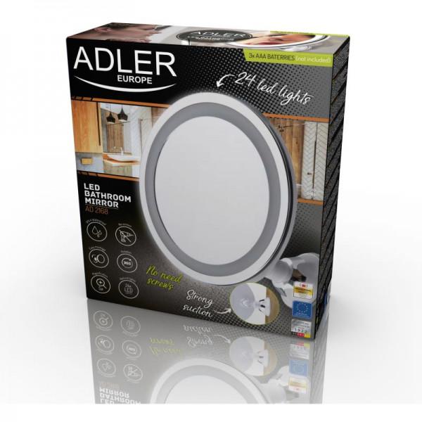 ADLER AD 2168, Zrkadlo s LED svetlom
