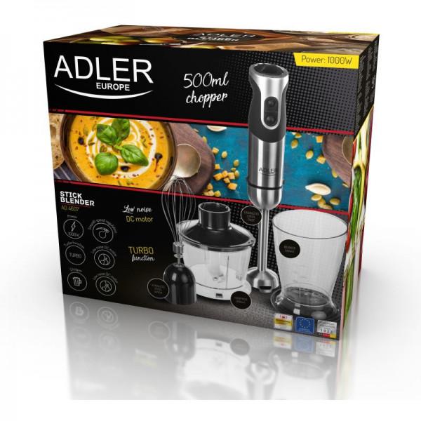 ADLER AD 4607, Tyčový mixér + príslušenstvo