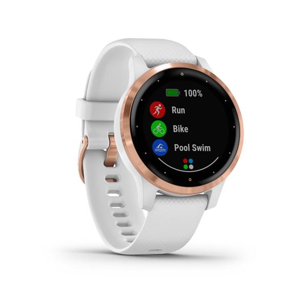 GARMIN Smart hodinky VÍVOACTIVE 4S White/Gold