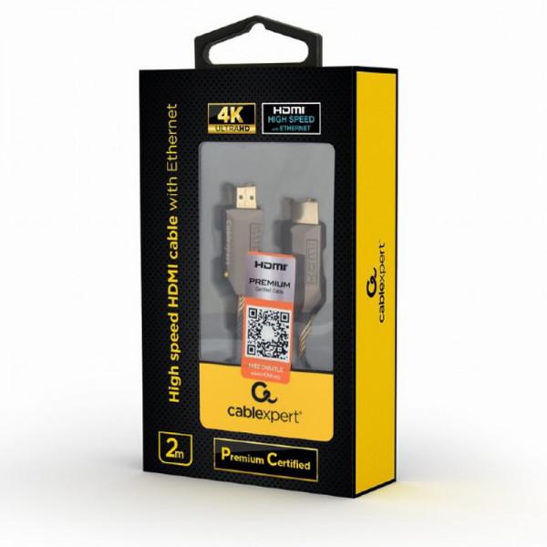 GEMBIRD Kábel HDMI 2.0b Sc/Sc 2m AWG28
