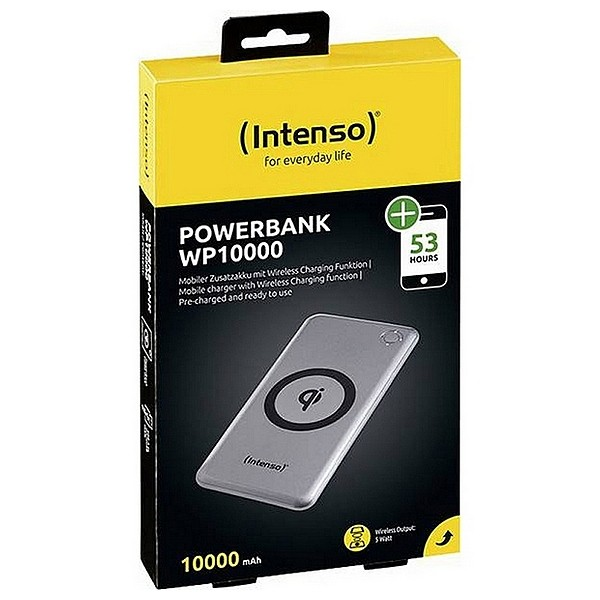INTENSO WP10000, Bezdrôtová (Qi) powerbanka