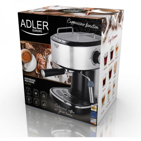 ADLER AD 4408, Pákový kávovar ESPRESSO