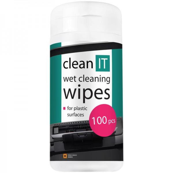 CLEAN IT čistiacie ubrúsky mokré na LCD/TFT 100ks