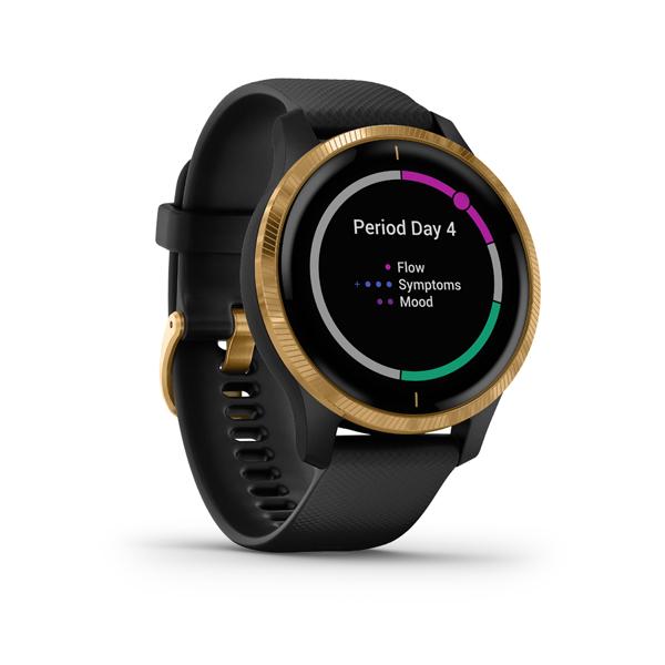 GARMIN Smart hodinky VENU Black/Gold