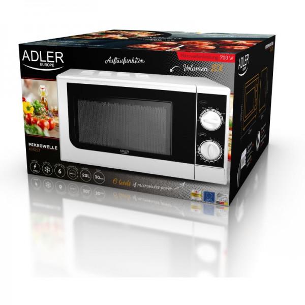ADLER AD 6203, Mikrovlnná rúra 20L