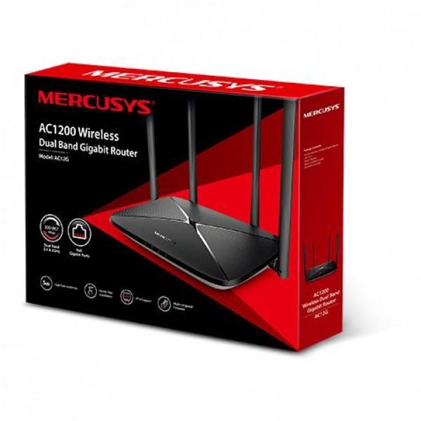 MERCUSYS AC12G AC1200 Dual Band Wireless Router
