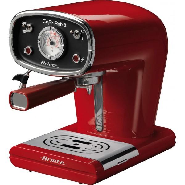 Ariete Retro Espresso kávovar, červený, 1388/30