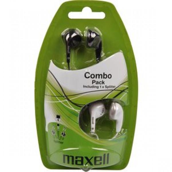 303457 COMBO PACK EBC2 slúchadlá MAXELL