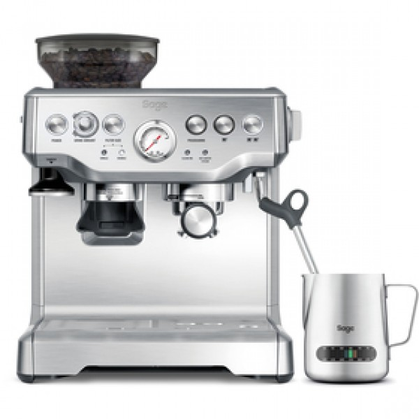 BES875BSS espresso sivé SAGE