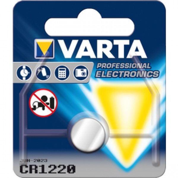 CR 1220 Electronics 1ks blis. bat. VARTA