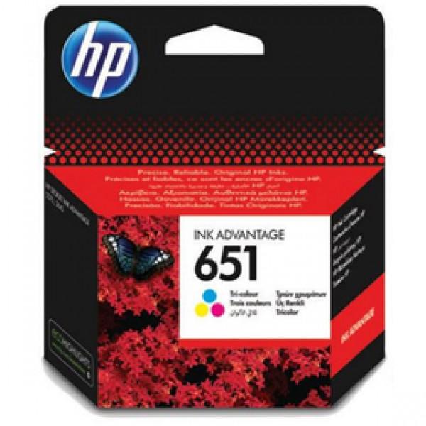C2P11AE 3farebný INK No. 651 HP