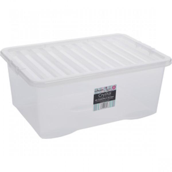 10870 box s vekom 45l biely WHAM