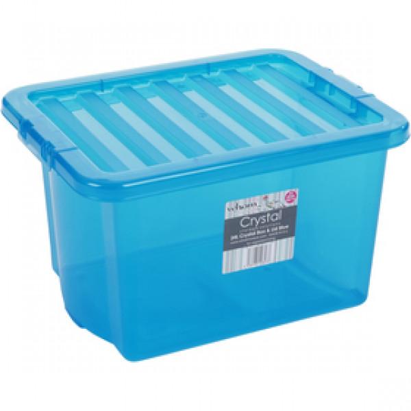 10843 box s vekom 24l modrý WHAM
