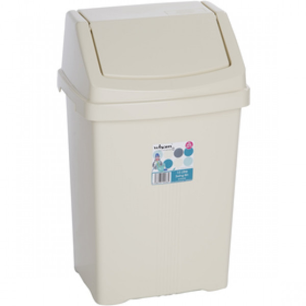 11930 kôš odpadkový 15l béžový WHAM