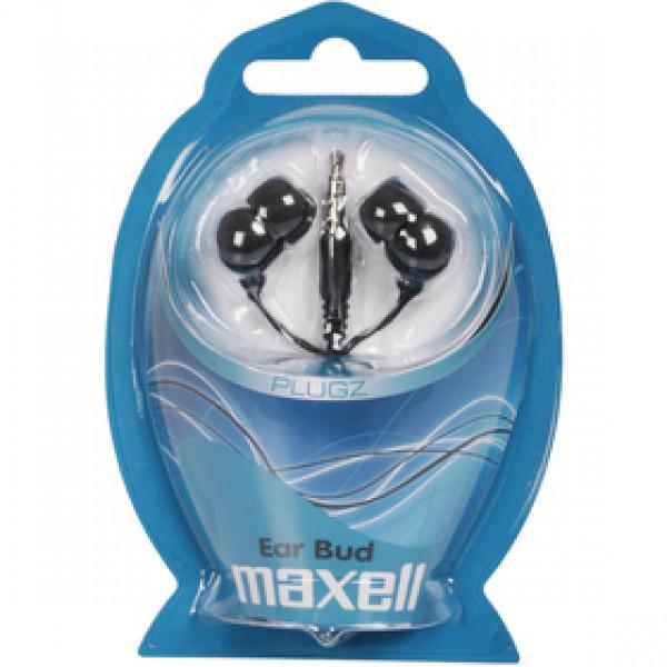 303459 PLUGZ slúchadlá čierne MAXELL