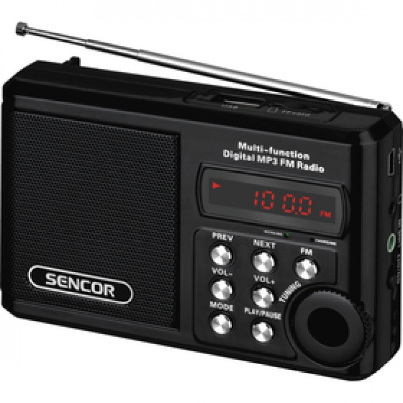 SRD 215 B RÁDIO S USB/MP3 SENCOR