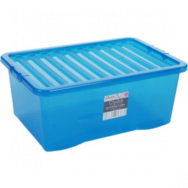 10873 box s vekom 45l modrý WHAM
