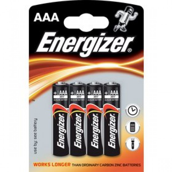 LR03 4BP AAA Power Alk ENERGIZER