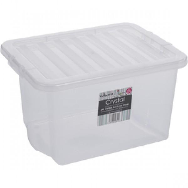 10840 box s vekom 24l biely WHAM