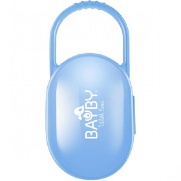 BBA 6401 puzdro na cumlík modrý BAYBY