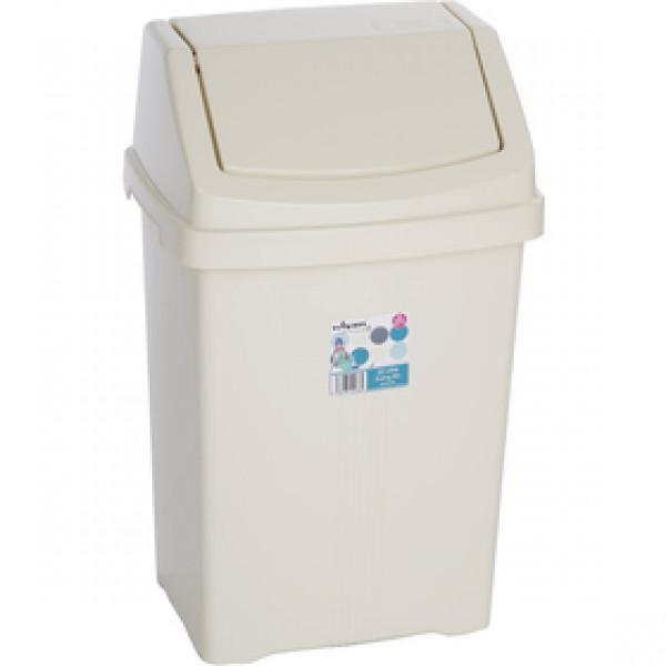 11935 kôš odpadkový 25l béžový WHAM