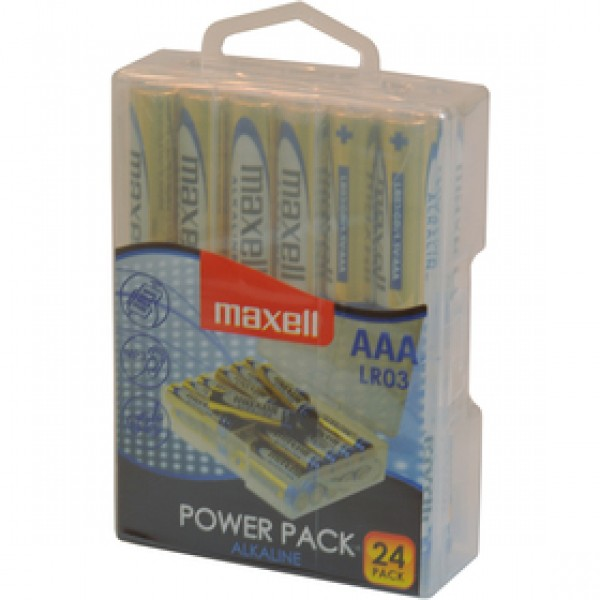 LR03 24BP AAA Power Alk MAXELL