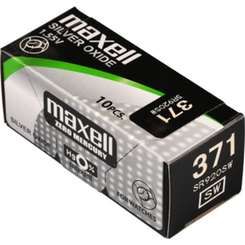 371/SR920SW/V371 1BP Ag MAXELL