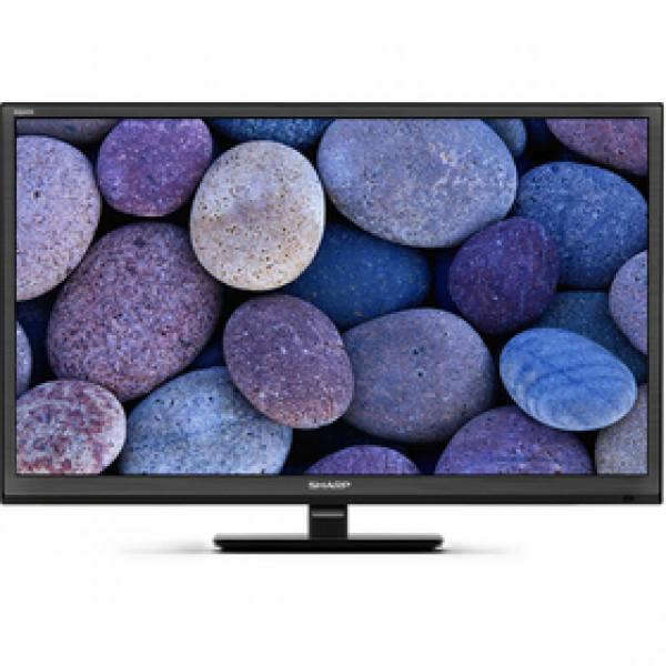 LC 24CHF4012E BLACK, DVB-T/T2/S2 HEVC