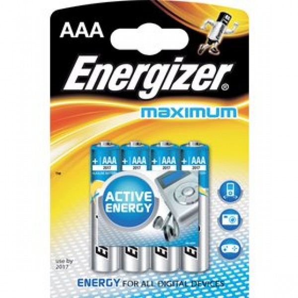 LR03 4BP AAA Maximum Alk ENERGIZER