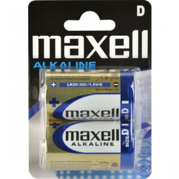 LR20 2BP D Alk MAXELL