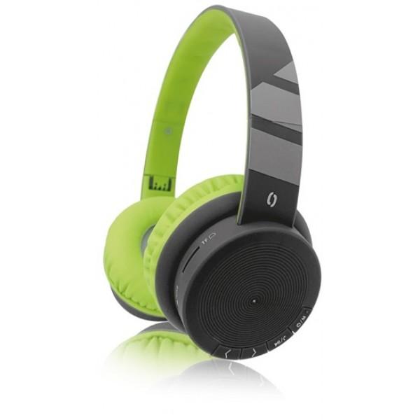 ALI BT sluch. AH02,FM,SD,čer/zel. AH02GN