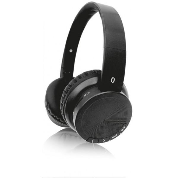 ALI BT sluchátka AH02,FM,SD,černá AH02BK